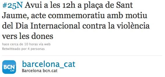 Twitter ayuntamiento Barcelona