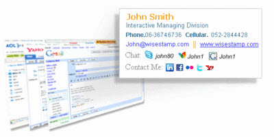 firma email con Wise Stamp