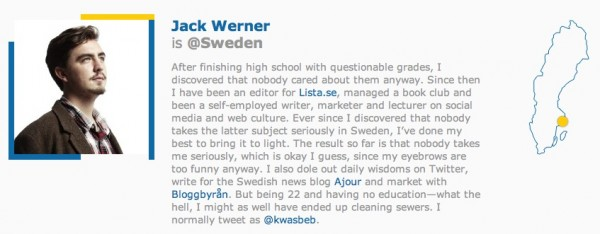 Jack Wender en Curators of Sweden