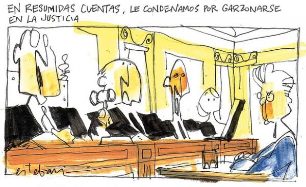 Sentencia por Garzonearse